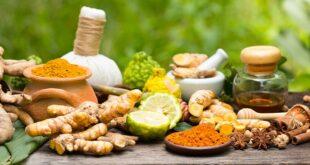 Ayurvedic herb herb turmeric indian spices 1200x628 facebook 310x165 - قویترین داروهای گیاهی برای انزال زودرس